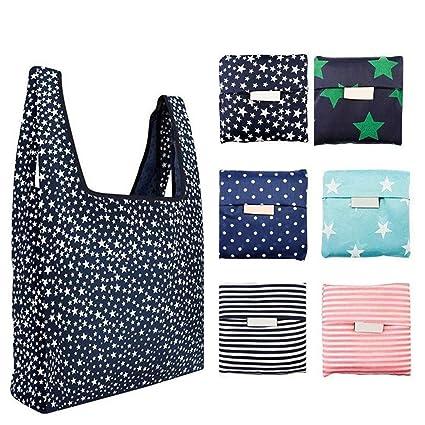 Amazon.com: Bagku, paquete de 6, bolsas reutilizables para ...