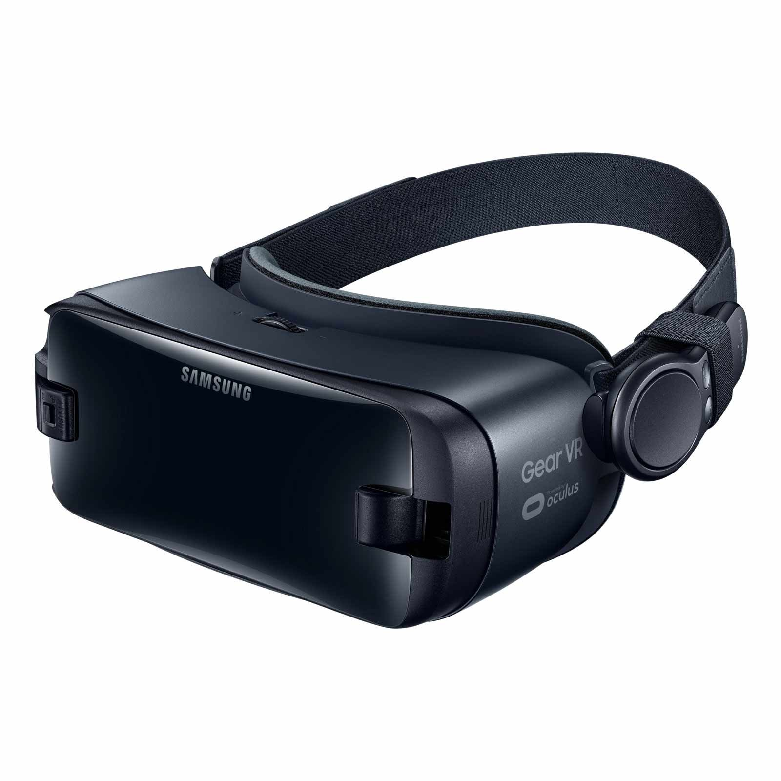 Samsung Gear VR (2017 Edition) with Controller Virtual Reality Headset SM-R325 for Galaxy S8, S8+, S7, S7 edge, Note5, Note 8, S6 edge+, S6, S6 edge (International Version, No Warranty) by Samsung (Image #4)
