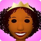 3D Pretty Brown Princess Dressup Game