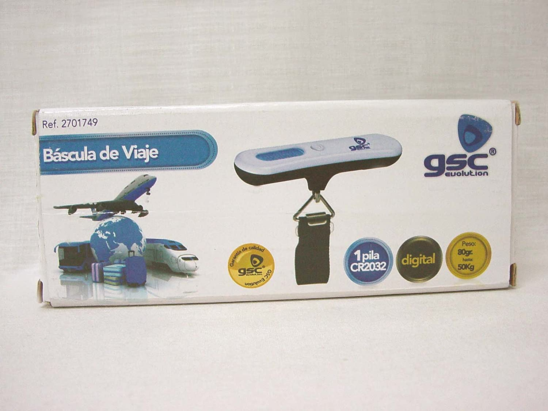 Evila - Bascula viaje alta precisión 50kg.: Amazon.es: Bricolaje y herramientas