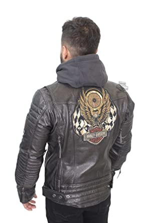 708c06c2f Harley-Davidson Mens Marmax Racing Eagle 3-in-1 Leather Jacket (5X ...
