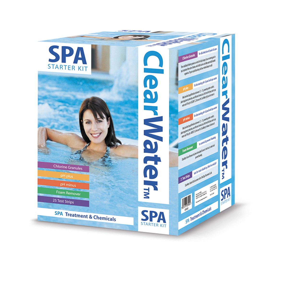 Clearwater CH0018 Lay-Z-Spa Chemical Starter Kit for Hot Tub and Spa Treatment B004U6HCGU