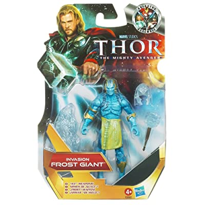 Thor: The Mighty Avenger Action Figure #06 Invasion Frost Giant 3.75 Inch: Toys & Games