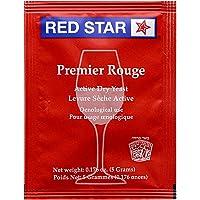Red Star Premier Rouge (Pasteur Red) Wine Yeast - 1 Pack (5 Grams)