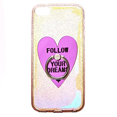 official photos f0b2a b55b8 Claire's Girl's Follow Your Dreams Iridescent iPod® Touch Case ...