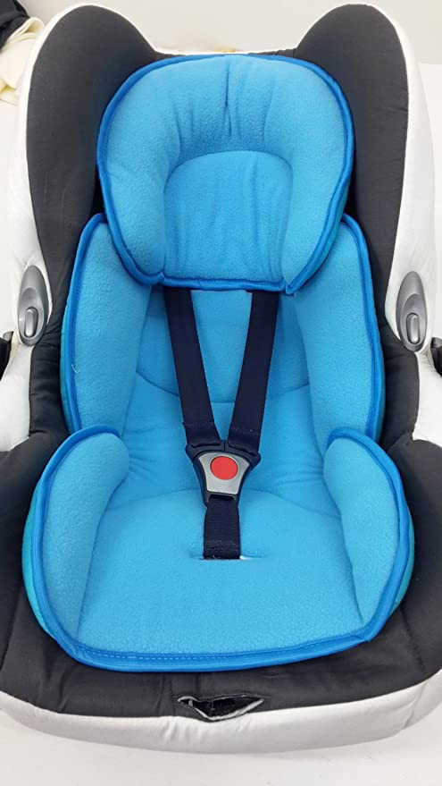 Sweet Baby ** SOFTY MAXI ROJO ** Cojín reductor para silla de bebé / Protector de cuerpo para coche (0-12 meses): Amazon.es: Bebé