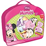 Disney Minnie Mouse Double-Sided Puzzle and Colour Jigsaw Puzzle (24 Pieces)