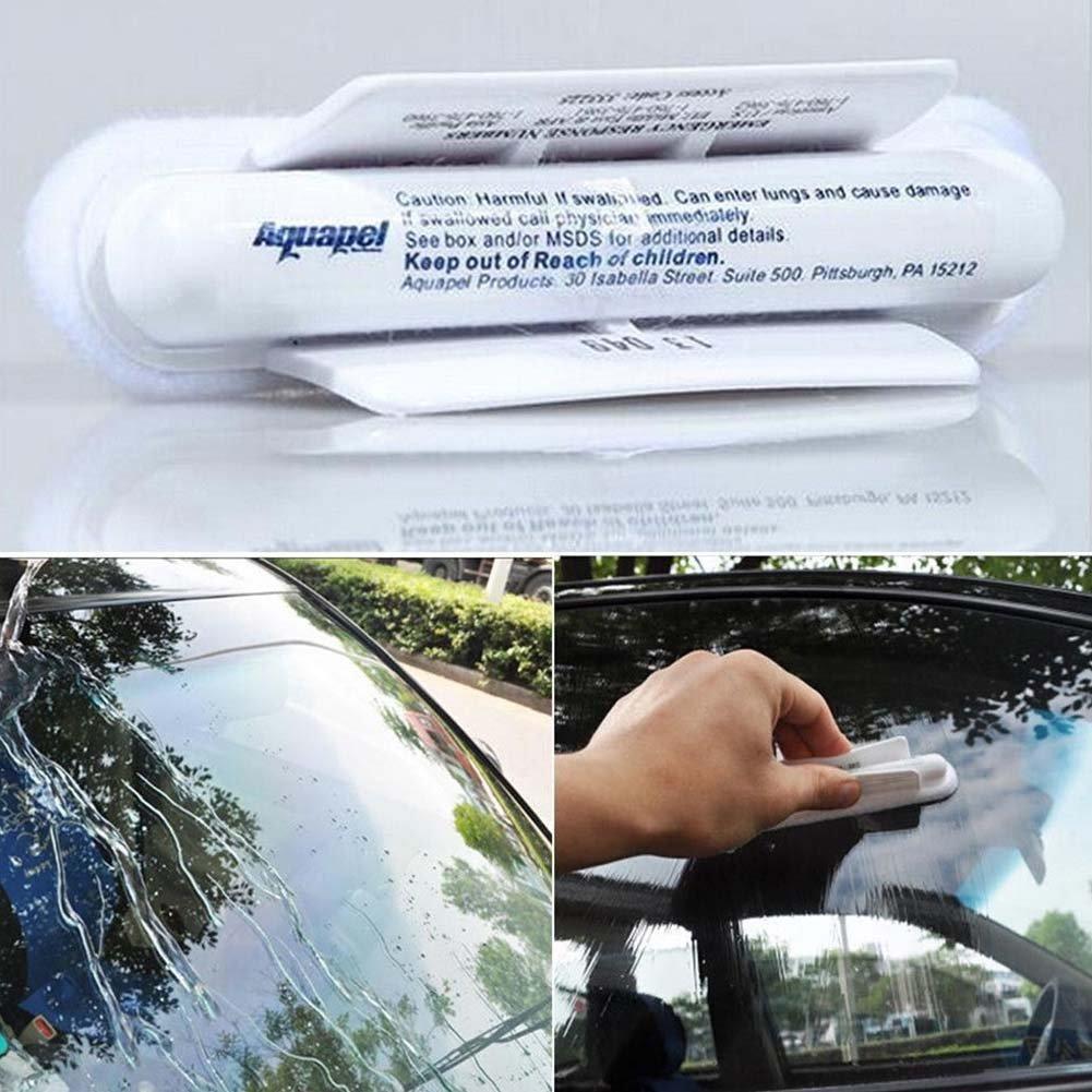Woopower Auto pioggia tergicristallo, Drive Safe vetro parabrezza idrorepellente pioggia Treament applications Repels lisciante, tergicristalli