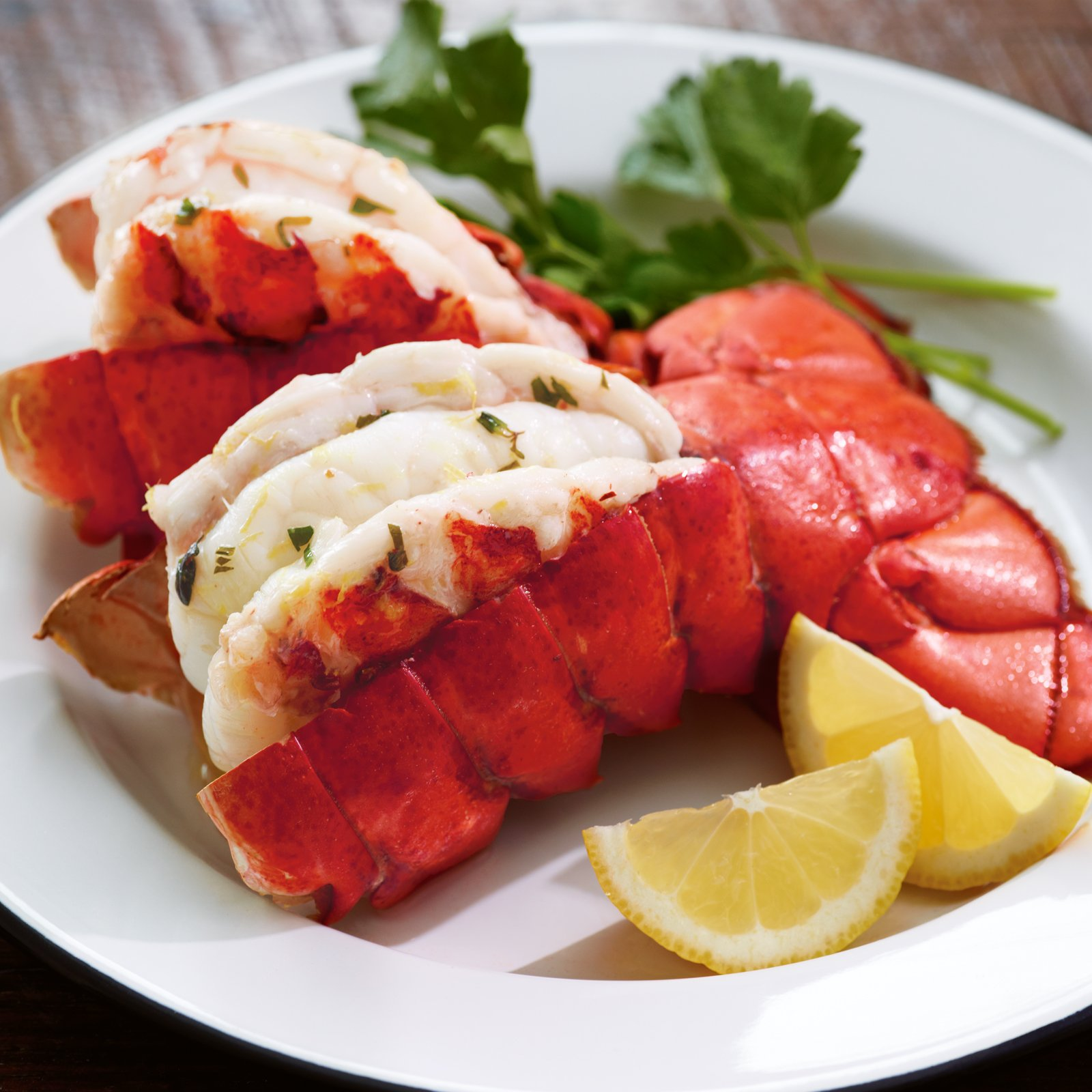 Kansas City Steaks 4 (5oz.) North Atlantic Lobster Tails by Kansas City Steak Company (Image #1)
