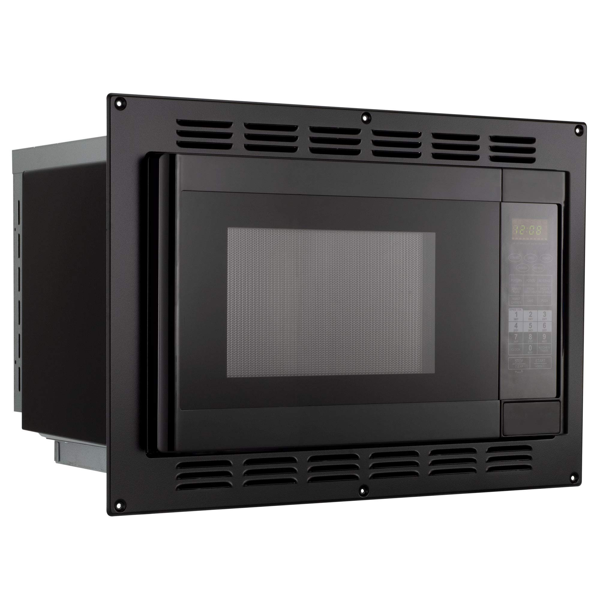 RV Convection Microwave Black 1.1 Cu. ft | 120V | Microwave | Appliances by RecPro