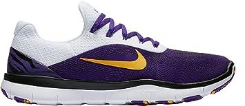 047408cf4c Nike Men's Free Trainer V7 Week Zero Louisiana Edition Training Shoes (LSU,  11.5 D