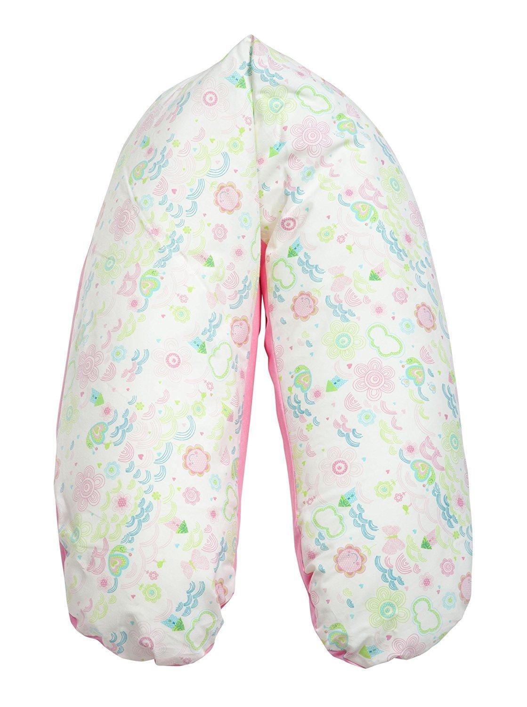 Joyfill Stillkissen Waschbarer Bezug f/ür Flexofill Schwangerschaftskissen 170x34cm 581W/ölkchen rosa