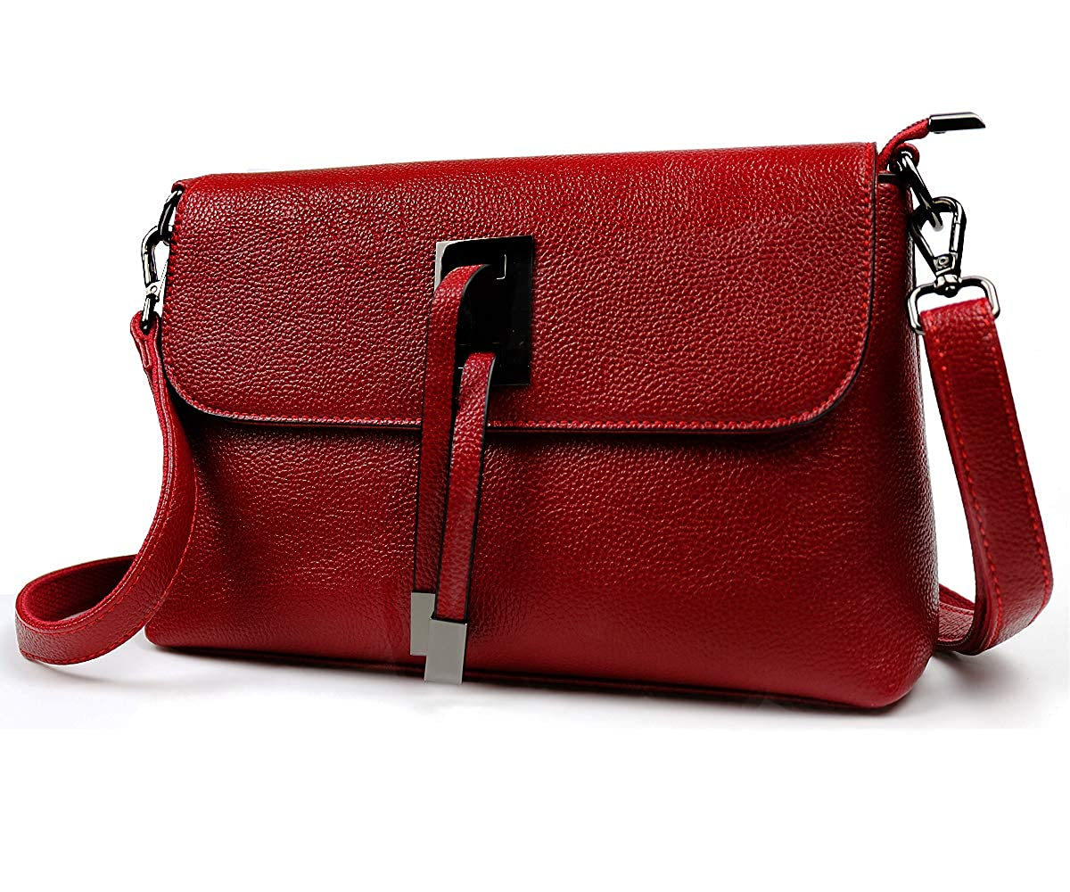 Burgundy Handbags for Women Large Designer Ladies Crossbody Bag Trendy Shoulder Bags Tote Purse Faux Leather