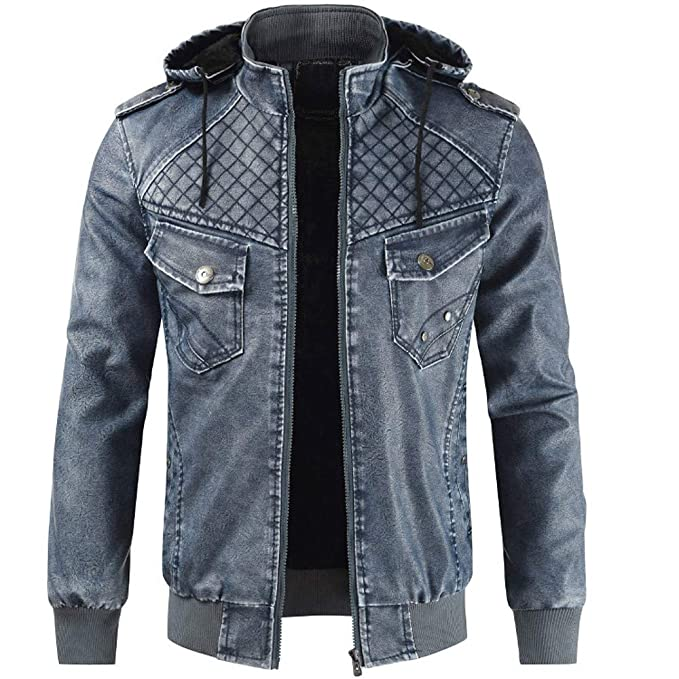 58e281c8f35caa Neu Herren Neue Winterjacke Mit Kapuze Leder Und Samtkragen Mantel  Herrenjacke Aus Einfarbige Kapuzenjacke Man Trenchcoat Fashion Business Top  Coat Warm ...