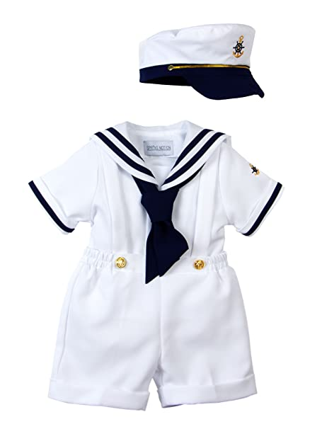 5f5d7e351 Spring Notion Baby Toddler Boys Nautical Sailor Short Suit Set with ...
