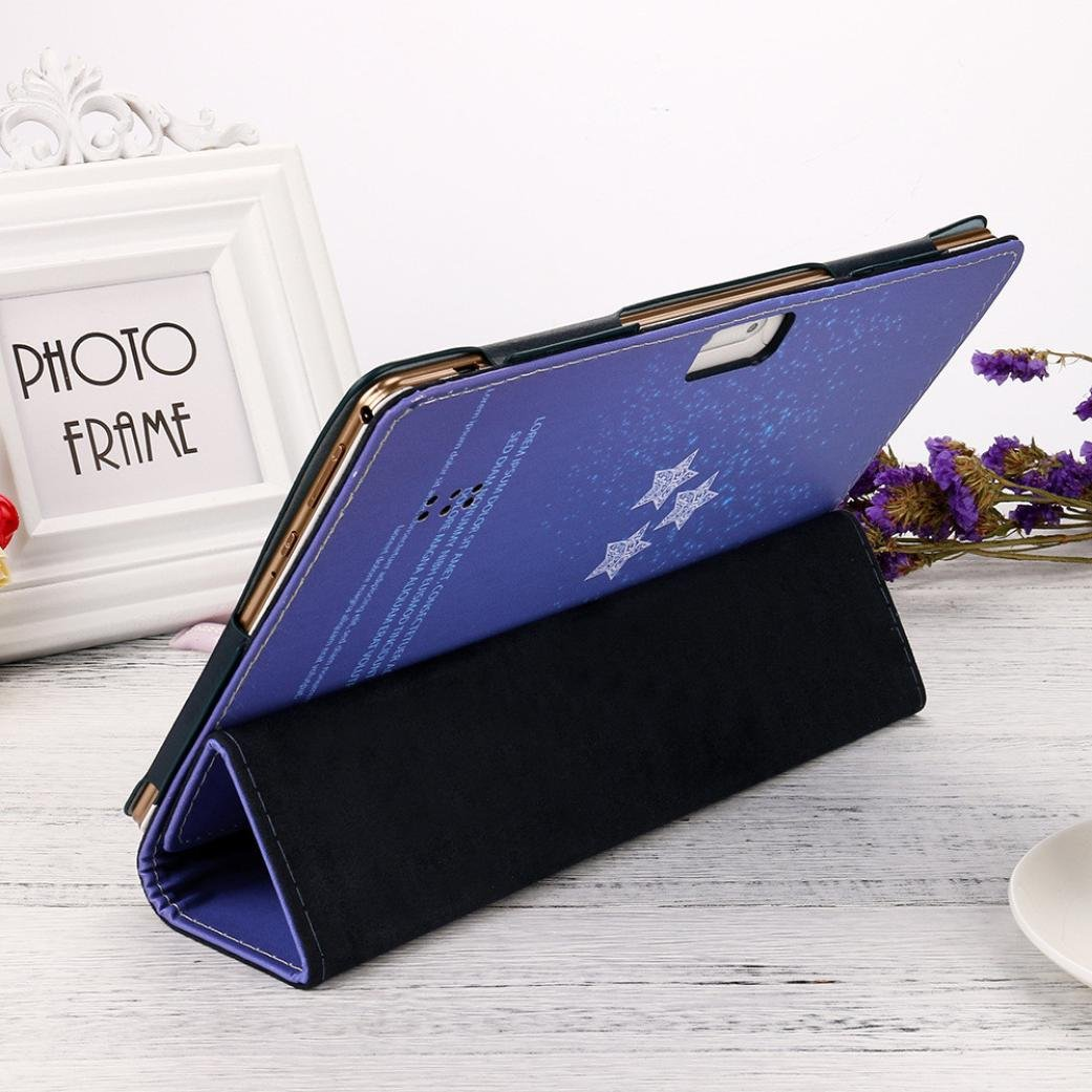 Jintime Portable Universal Tablet Schutzh/ülle 10//10,1 Zoll Android Leder Stand Cover Leichte Anti-Dirts Multicolor Optional