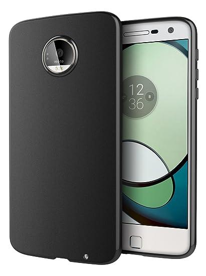 wholesale dealer d9baf f5ffe Amazon.com: Moto Z Play Case, Cimo [Matte] Premium Slim Protective ...