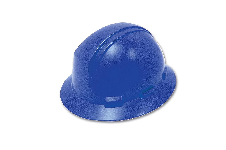 Dynamic Safety HP641R//17 Kilimanjaro Hard Hat with 4-Point Nylon Suspension and Sure-Lock Ratchet Adjustment Royal Blue ANSI Type I One Size