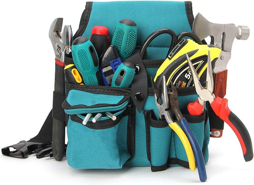 ZOOMY Blau 24x20cm Aufbewahrungstools Tasche Tuch Multifunktionale Wasserdichte Mit Riemen