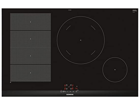 Siemens iQ700 EX875BEB1E Integrado Con - Placa (Integrado, Con placa de inducción, Cerámico, Aluminio, Negro, 1400 W, Alrededor): 481.88: Amazon.es: Grandes ...