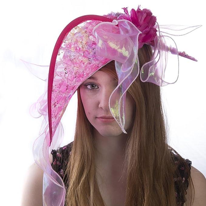 1092502a2b5 Amazon.com  HMS Women s Derby Hat Fantasy