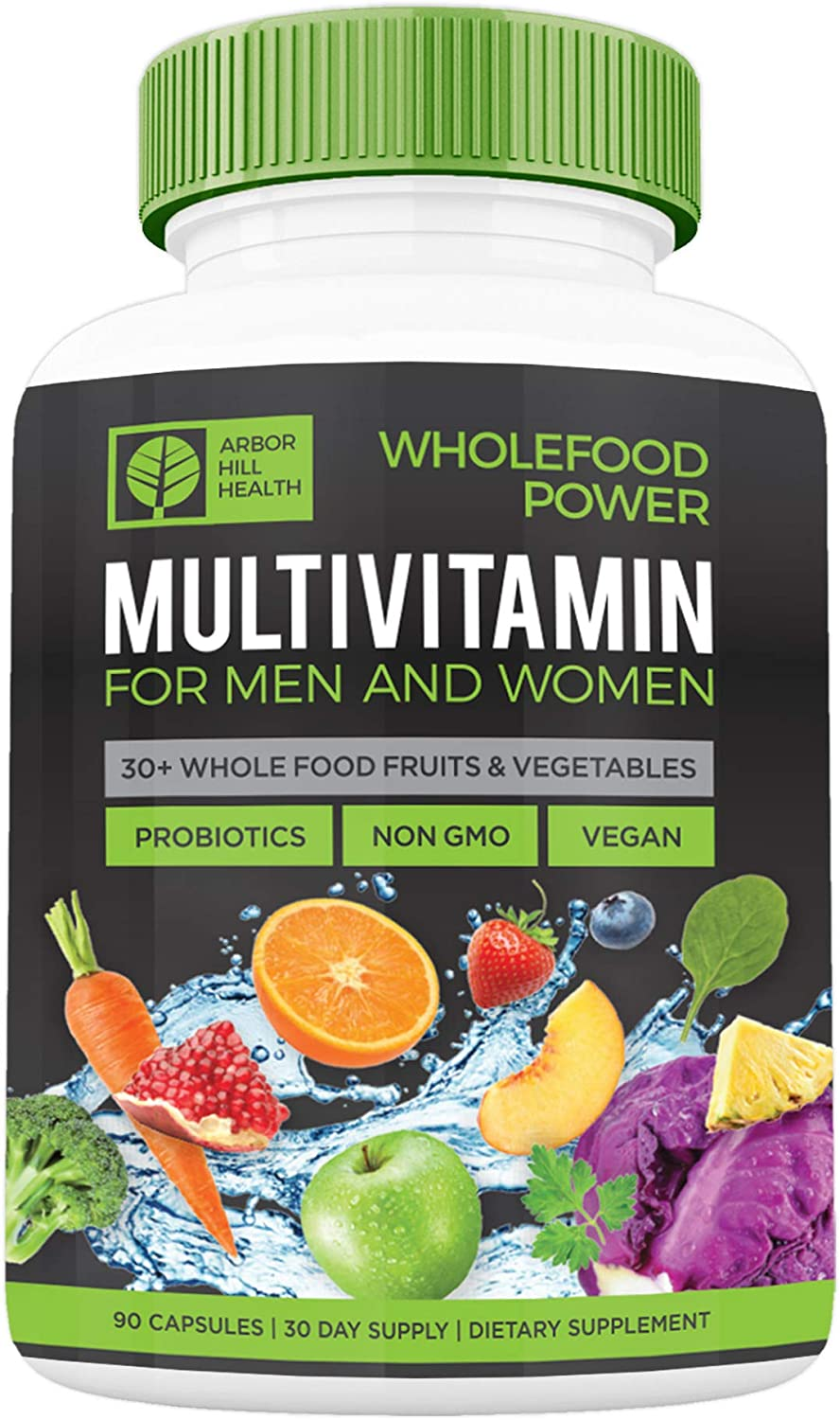 Wholefood Power Daily Multivitamins and Minerals for Women and Men