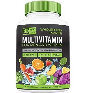 Amazon.com: Multivitamina diaria para hombres y mujeres ...