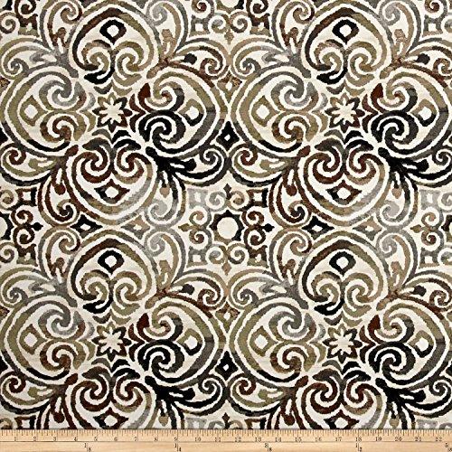BRYANT INDUSTRIES Bryant Indoor/Outdoor Corinthian Driftwood, - Indoor Outdoor Upholstery Fabric