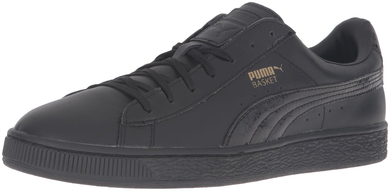 Amazon.com | PUMA Men's Basket Classic Animal Croc Fashion Sneaker |  Fashion Sneakers