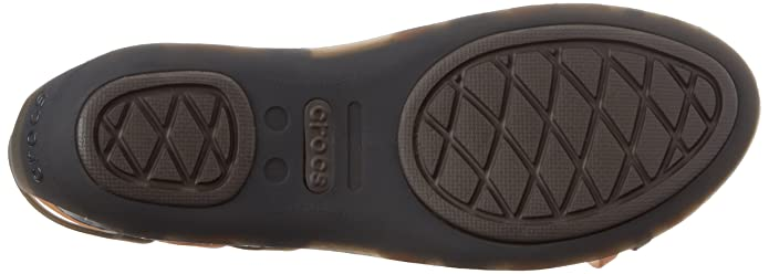 f3b4b5ee97ae8 crocs Women s Huarache Flat Women Bronze and Espresso Rubber Fashion Sandals   Buy Online at Low Prices in India - Amazon.in