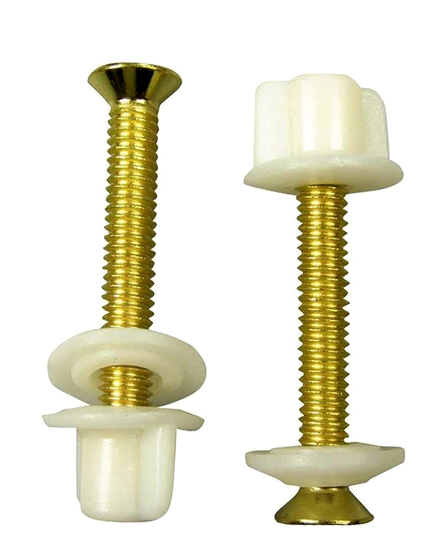 Prime 2 Pcs Brass Toilet Seat Hinge Bolts And Nuts Replacement Inzonedesignstudio Interior Chair Design Inzonedesignstudiocom