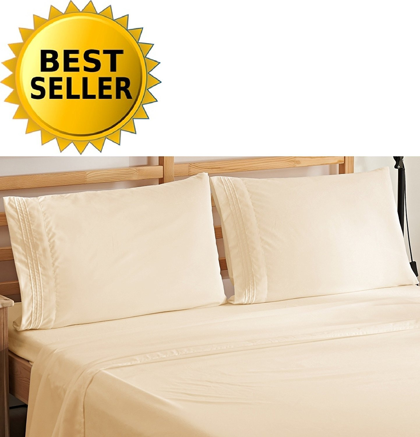 Elegant Comfort Bedding Luxury 4-Piece Bed Sheet Set