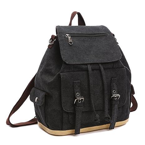 7324aca3f4 Outreo Zaino Donna Borsa Ragazza Vintage Bag Laptop Backpack per Studenti  Borsello Scuola Università Casual Borse
