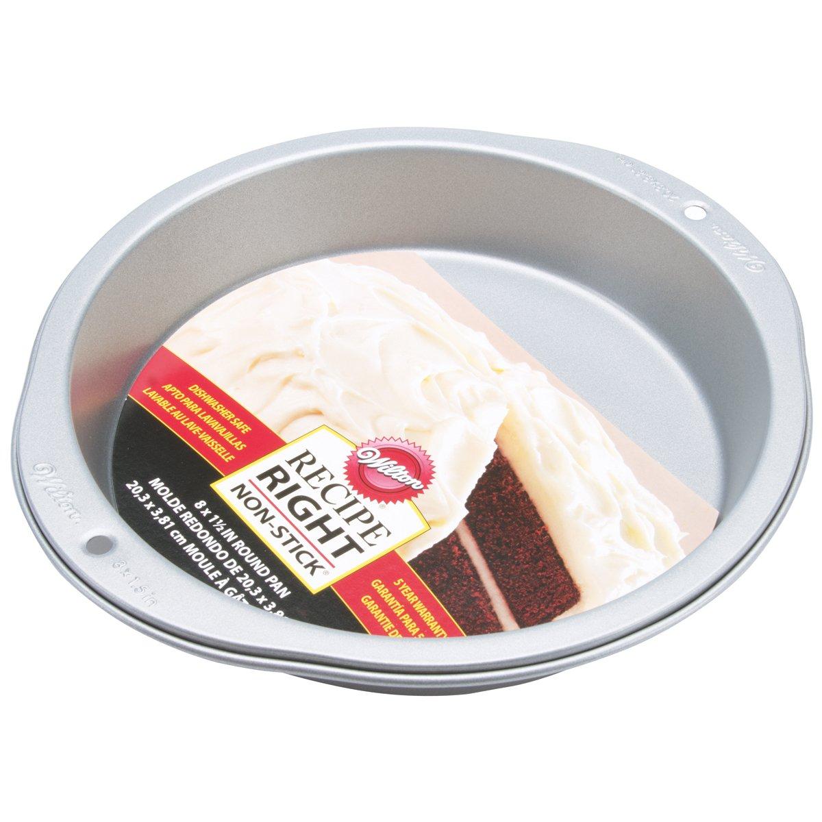 Wilton Recipe Right 8-Inch Round Pan 2105-957
