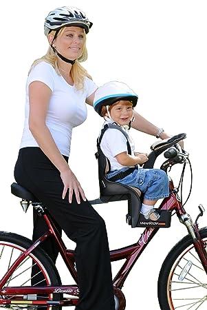 ecad238fd5e WeeRide Deluxe Child Baby Bike Seat: Amazon.co.uk: Sports & Outdoors