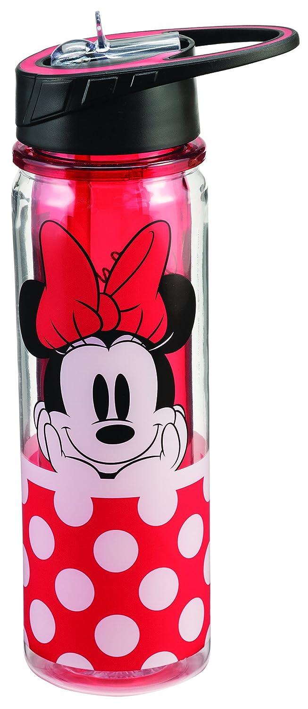 Disney Minnie Mouse 18 Oz Tritan Water Bottle 89075 Vandor Accessory Consumer Accessories