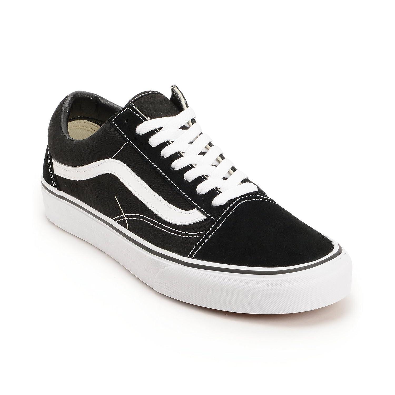 Vans Unisex Old Skool Classic Skate Shoes B0721GR85F 7.5 B(M) US Women / 6 D(M) US Men|Classic Black/White