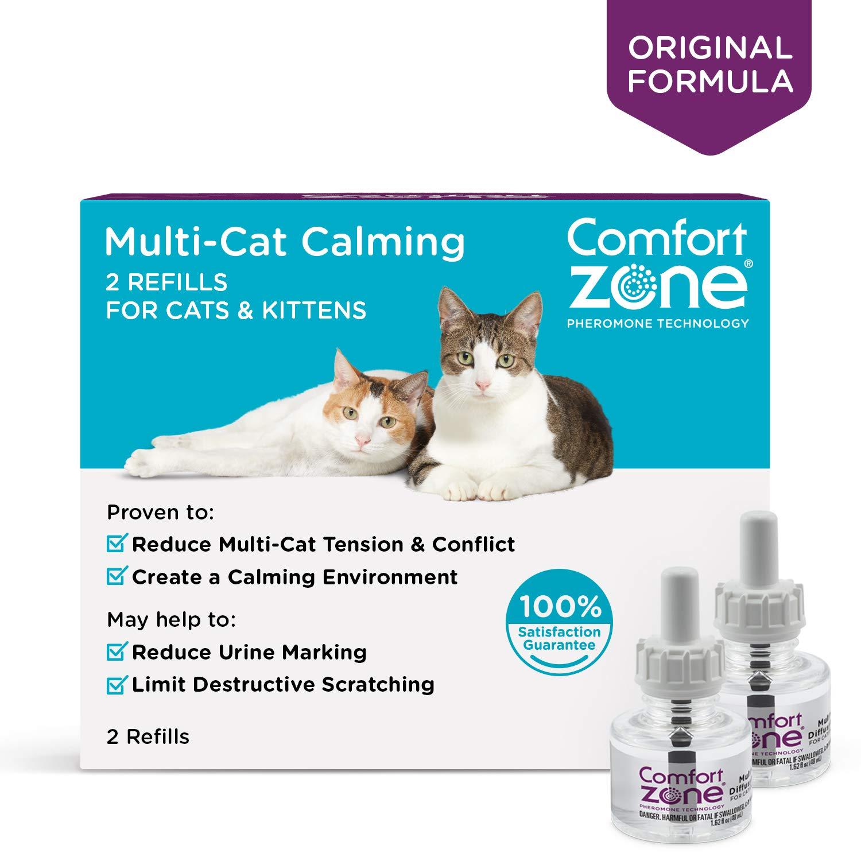 2 Pack Comfort Zone Multicat Refills for Cat Calming (2 Pack)