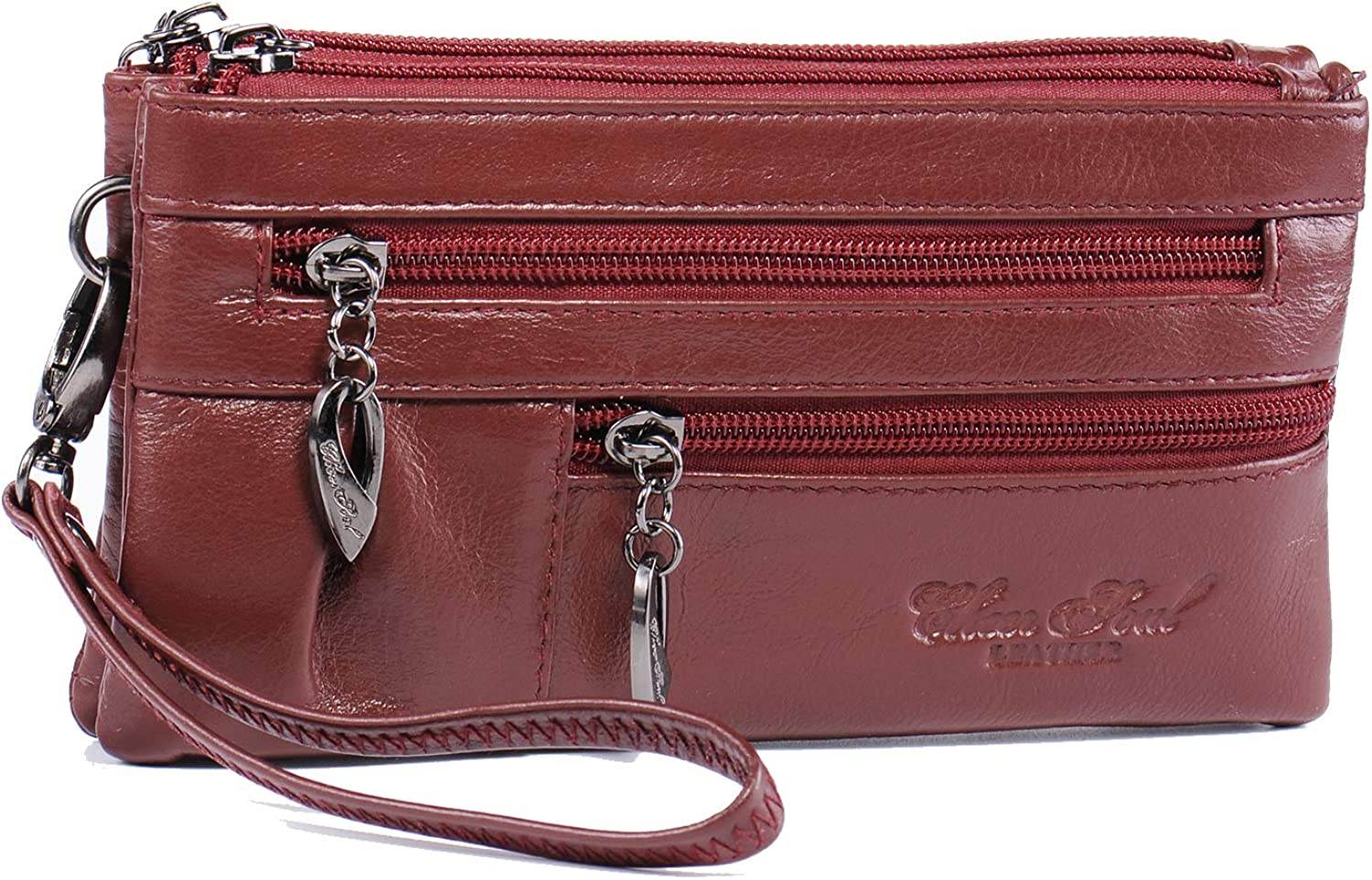 Wristlet Wallet Leather...
