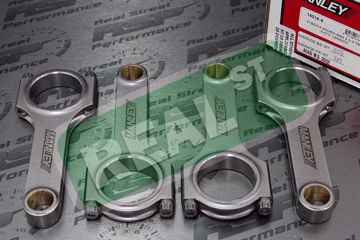 Manley 14014-4 H-Beam Connecting Rod