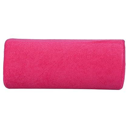 10 colores mano Cusion, salón durable mano resto cojín desmontable lavable arte de uñas suave esponja almohada brazo resto equipo(rosa)