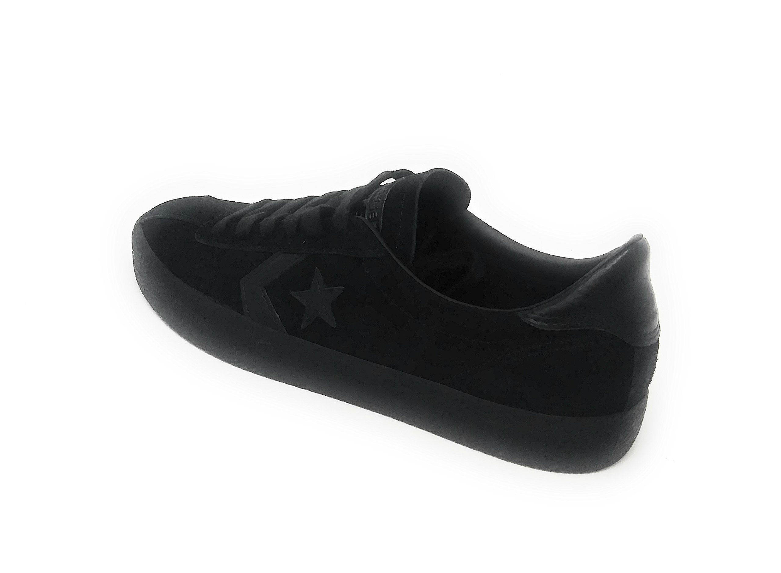 a42a7a79df7614 Galleon - Converse Cons Break Point Mono Suede OX Black Black Black (6 Mens    7.5 Womens)