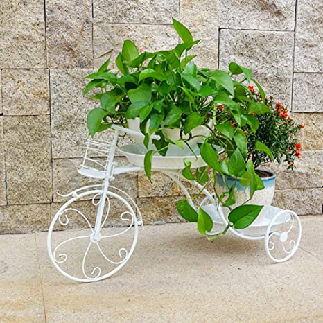 Vehículo de tres ruedas Macetas de plantas, Maceta Carro ...