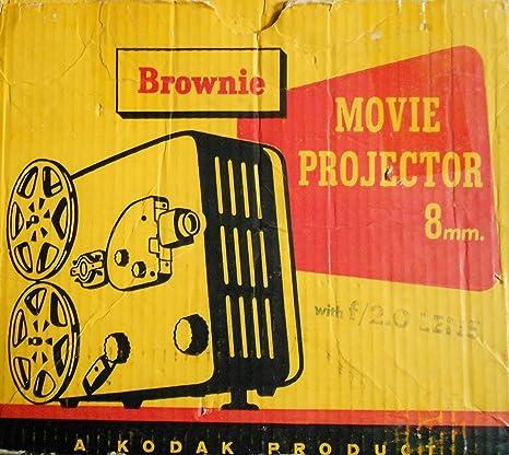 Kodak Brownie 8MM Movie Projector