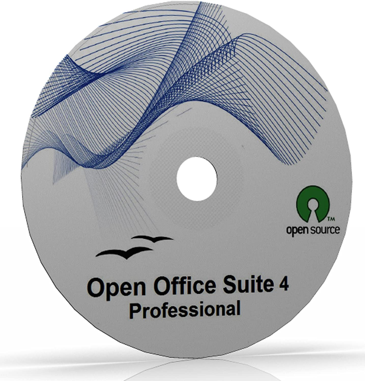 Open Office Suite 4.0 (2013 Edition) on CD-ROM for Windows (XP, Vista, 7, 8) & Mac - Microsoft Word Compatible