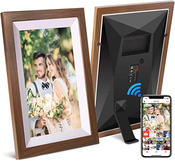 JHZL 10.1 Inch 16GB Smart WiFi Digital Picture Frame