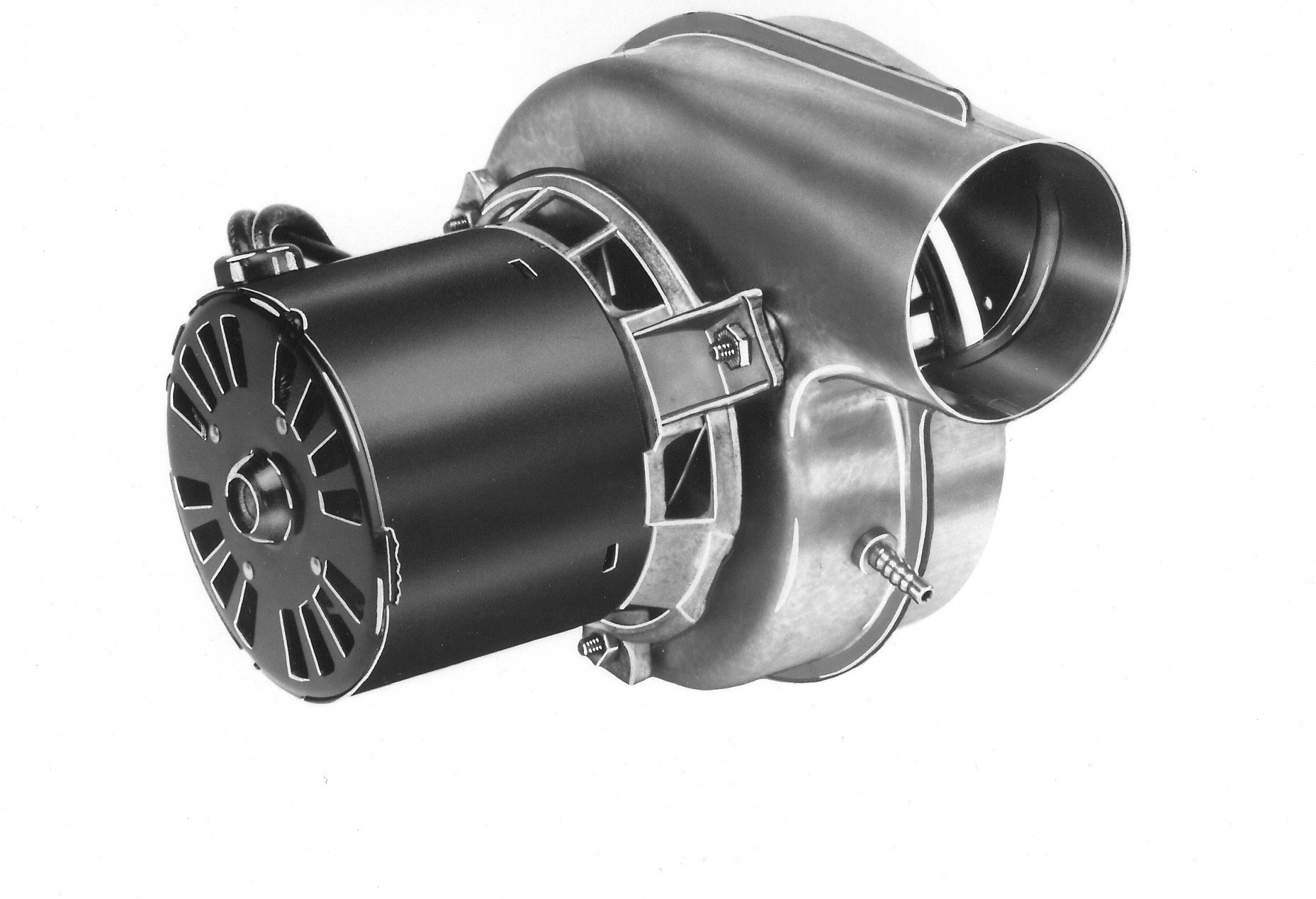 Fasco A138 3.3'' Frame Shaded Pole OEM Replacement Specific Purpose Blower with Sleeve Bearing, 1/70HP, 3,000 rpm, 120V, 60 Hz, 0.7 amps