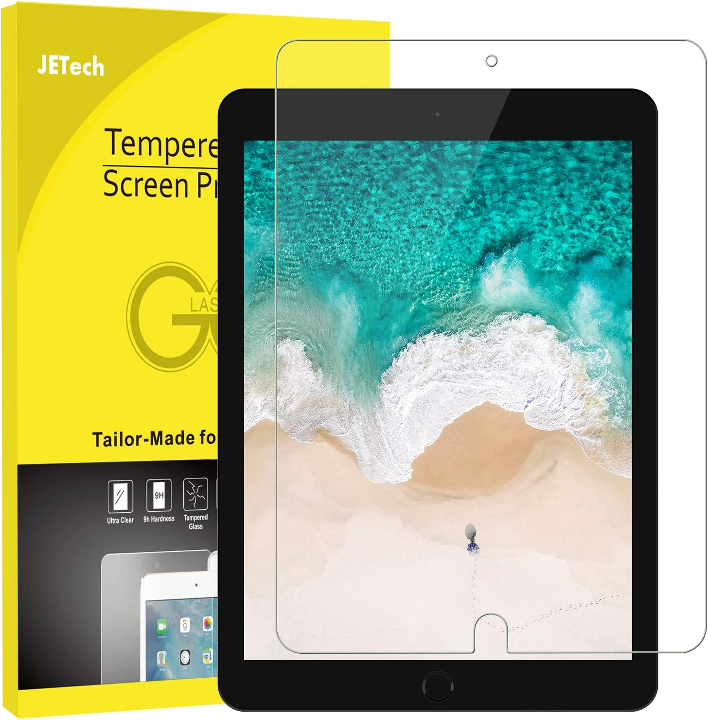 2Pcs Premium Tempered Glass Screen Protector For iPad Mini 1 2 3 4 Air Pro 10.5