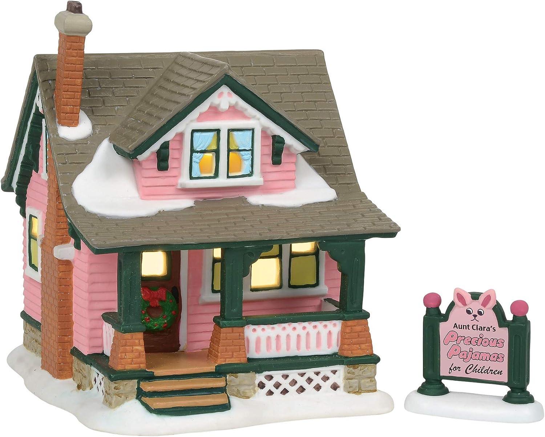 Department 56 Christmas Story Village Ralphies House Lit Building