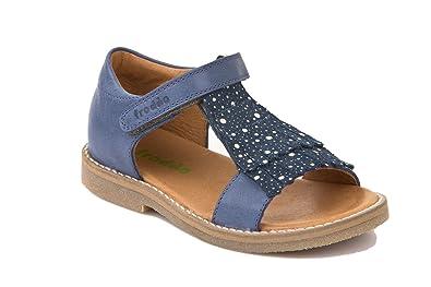bf5a82955026 Froddo Mädchen Sandale Klett mit Fransen Denim 33  Amazon.de  Schuhe ...